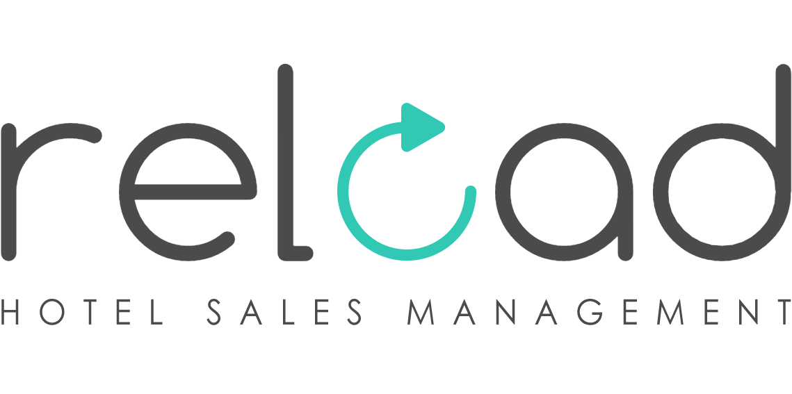 Increase in Direct Sales & Online Hotel Reservations - Reload Hotel Sales Management - Logo